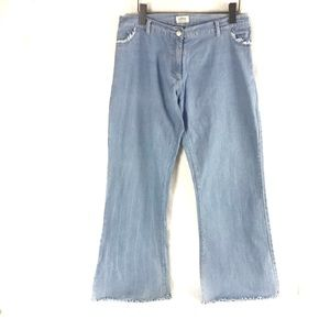 Oltre Made in Italy Hippie Chic Bell Bottom Jeans